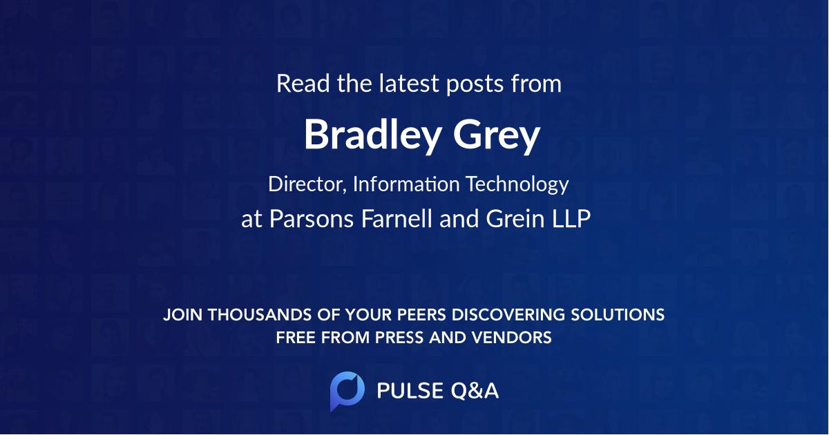 Bradley Grey