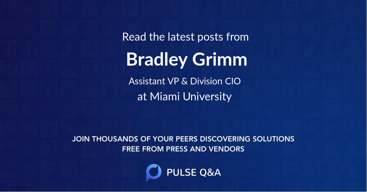 Bradley Grimm