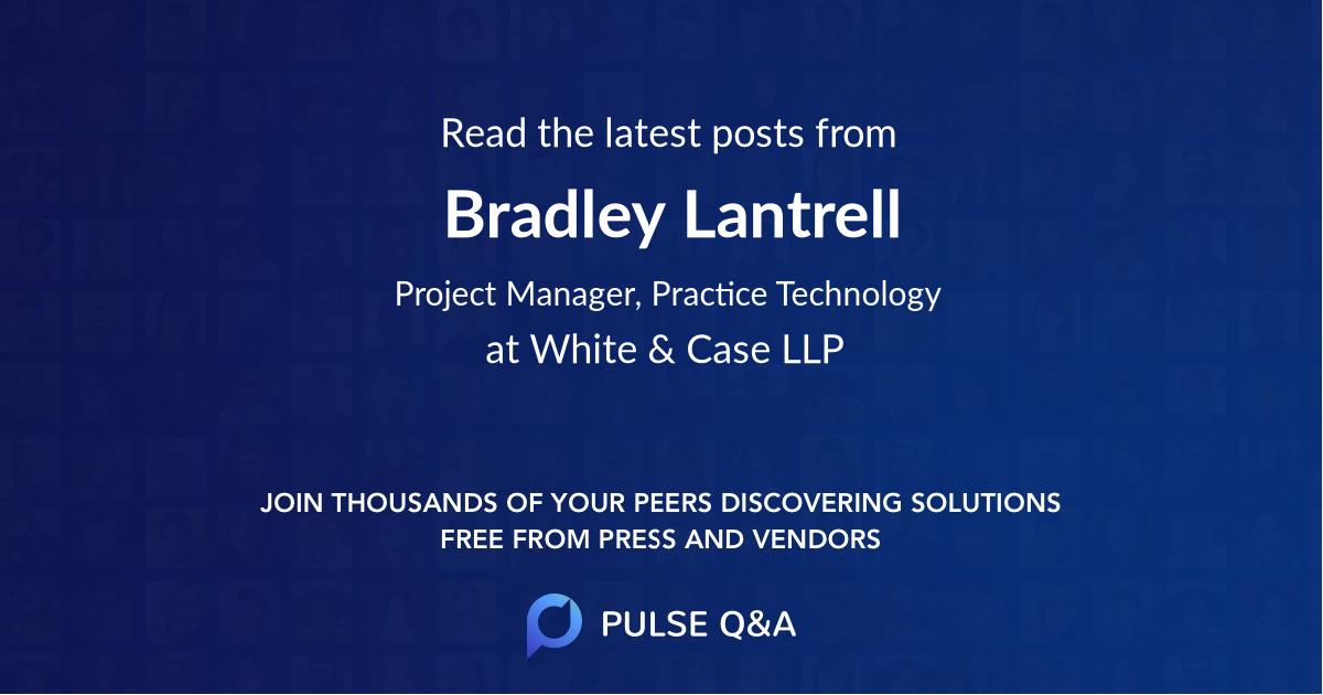 Bradley Lantrell