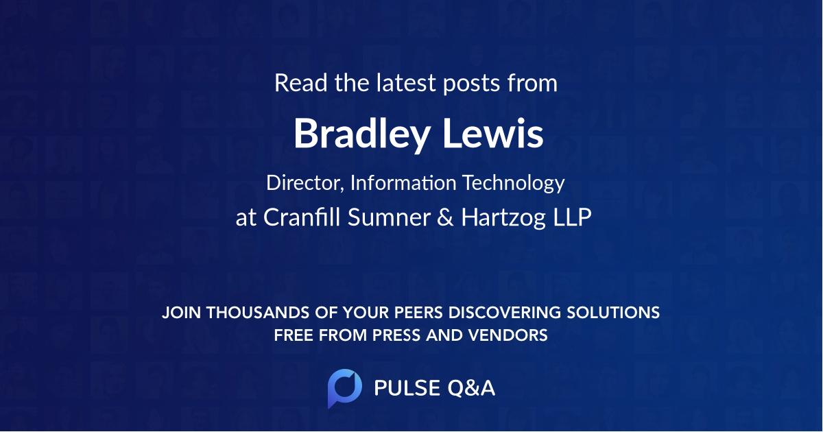 Bradley Lewis