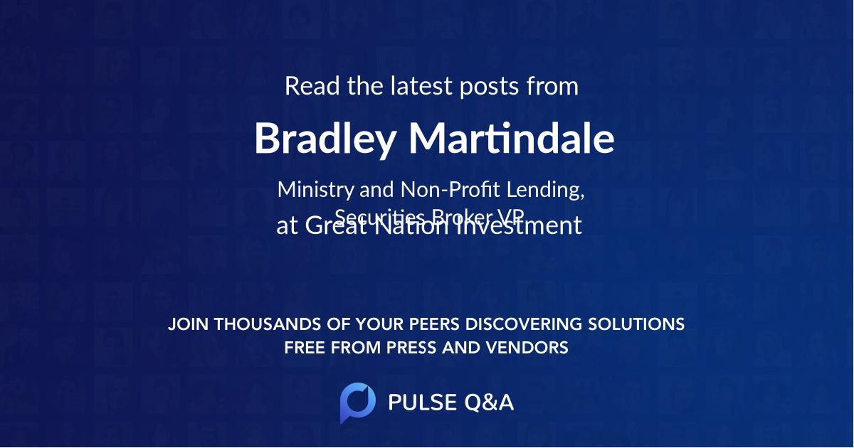 Bradley Martindale