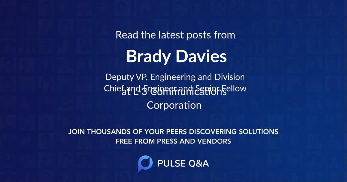 Brady Davies