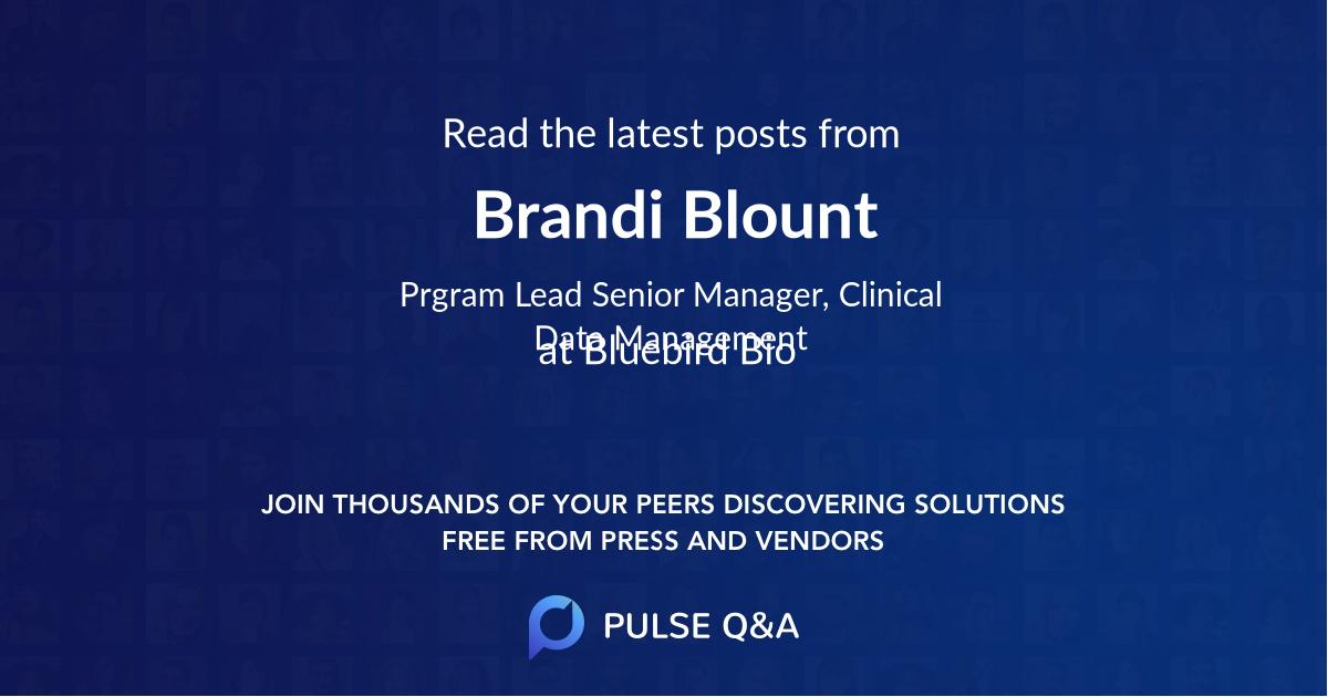 Brandi Blount