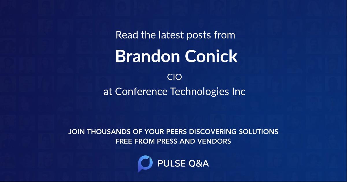 Brandon Conick