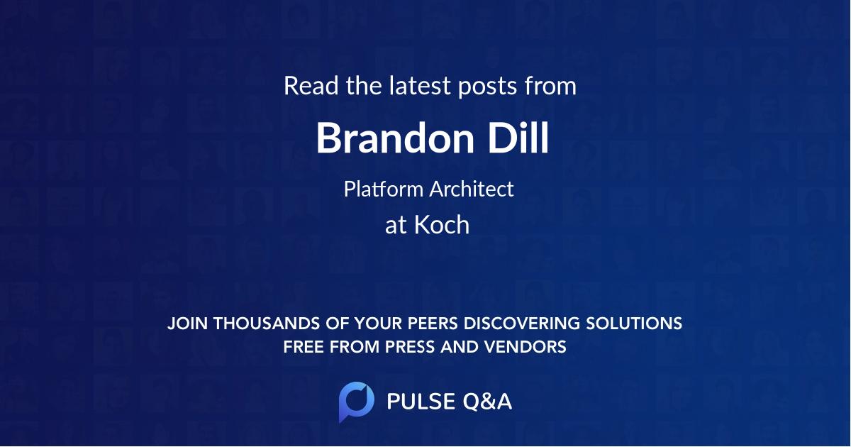 Brandon Dill