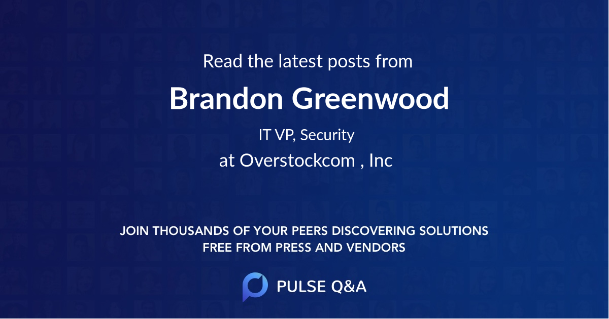 Brandon Greenwood