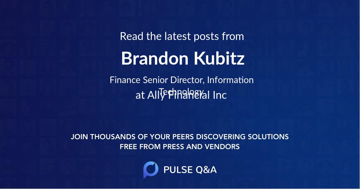 Brandon Kubitz