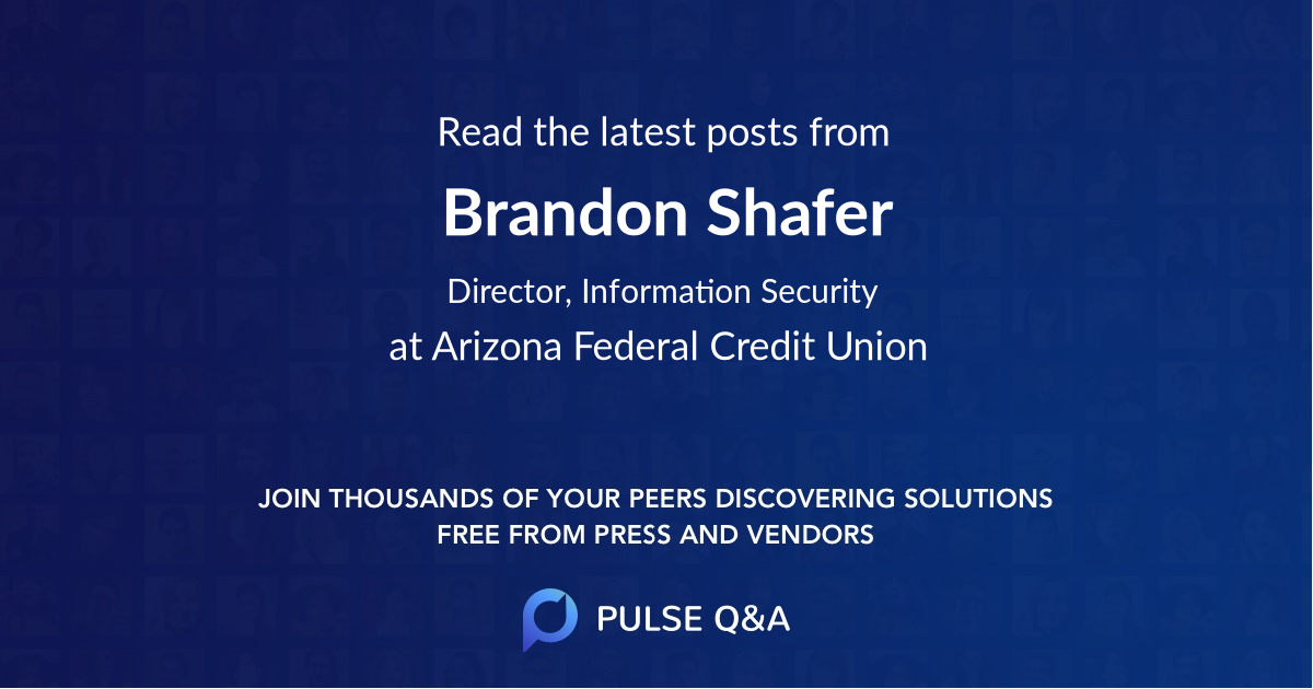 Brandon Shafer