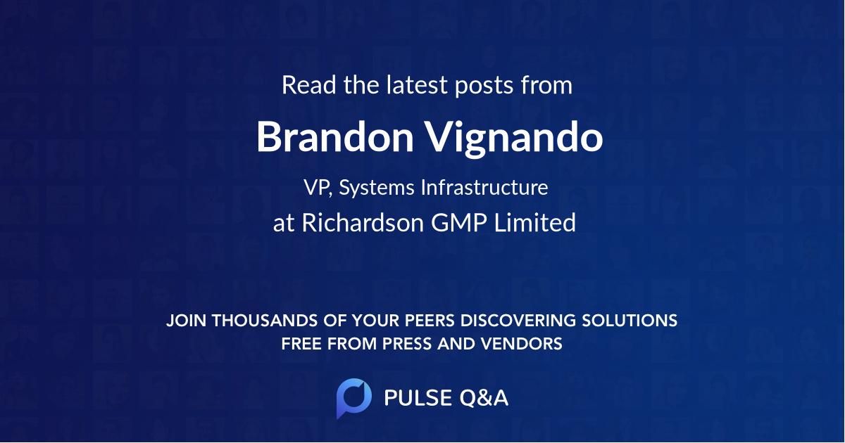 Brandon Vignando