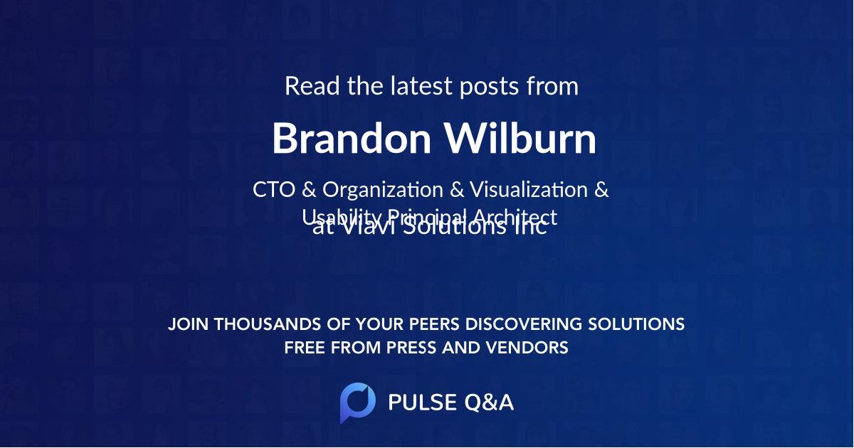 Brandon Wilburn