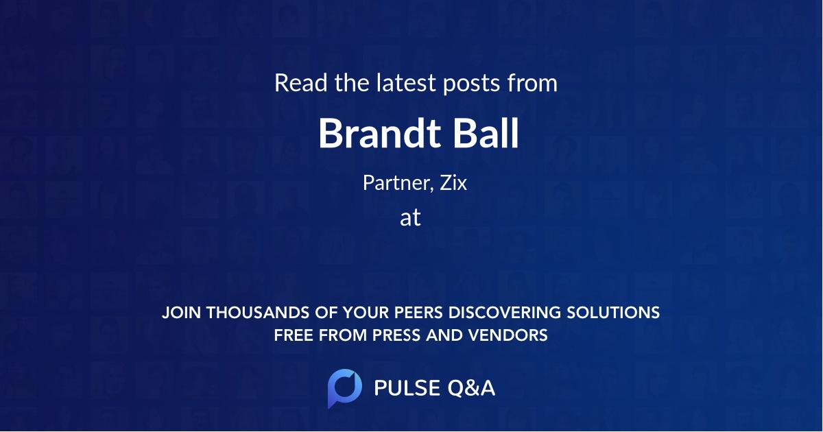 Brandt Ball
