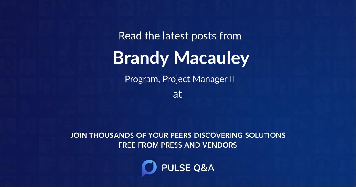 Brandy Macauley