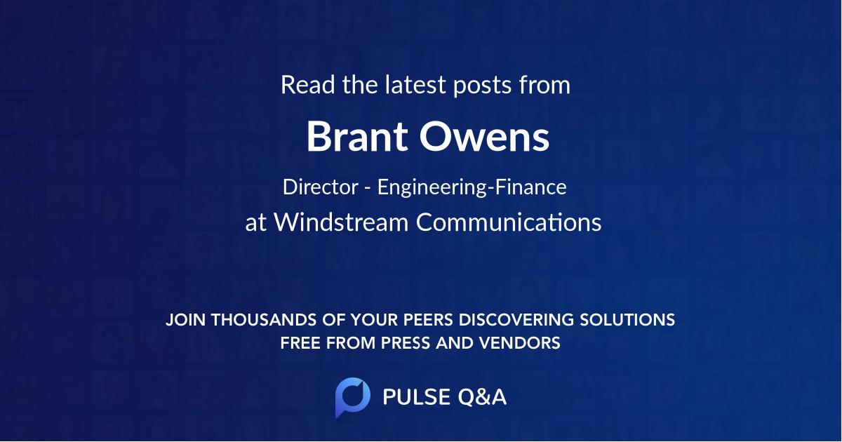 Brant Owens