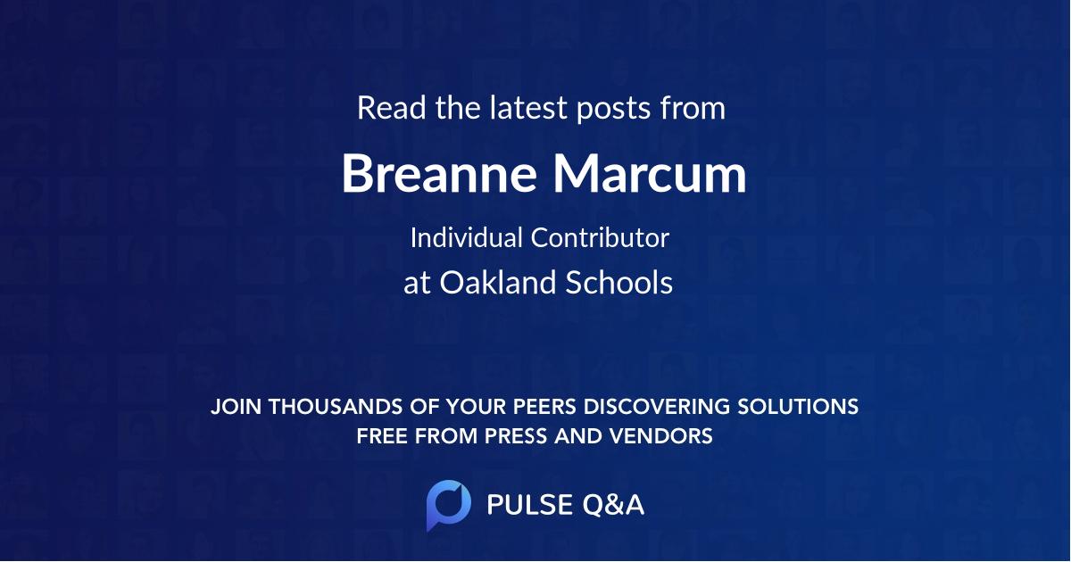 Breanne Marcum