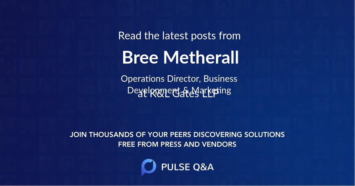 Bree Metherall