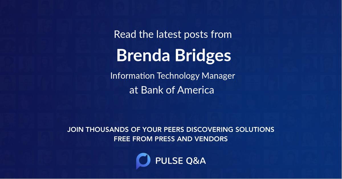 Brenda Bridges