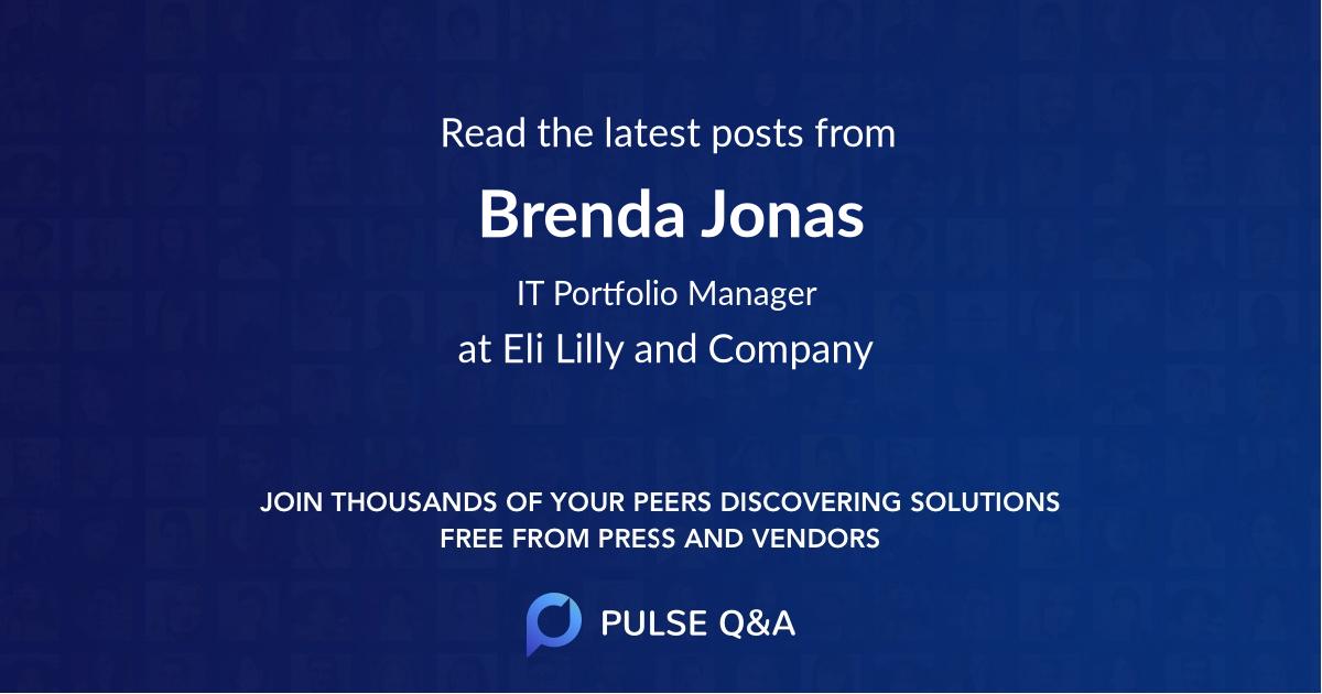 Brenda Jonas