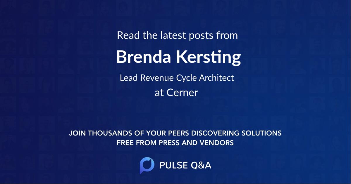 Brenda Kersting