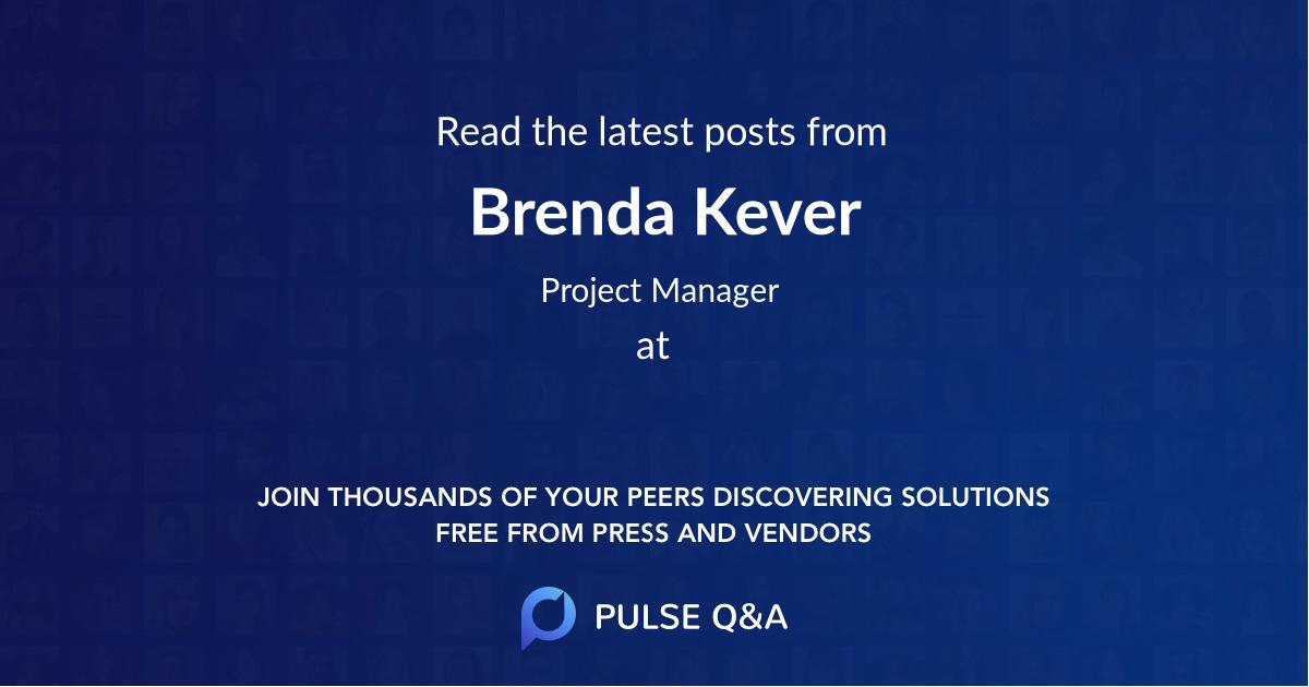 Brenda Kever
