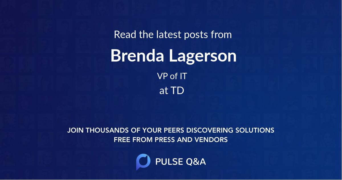 Brenda Lagerson