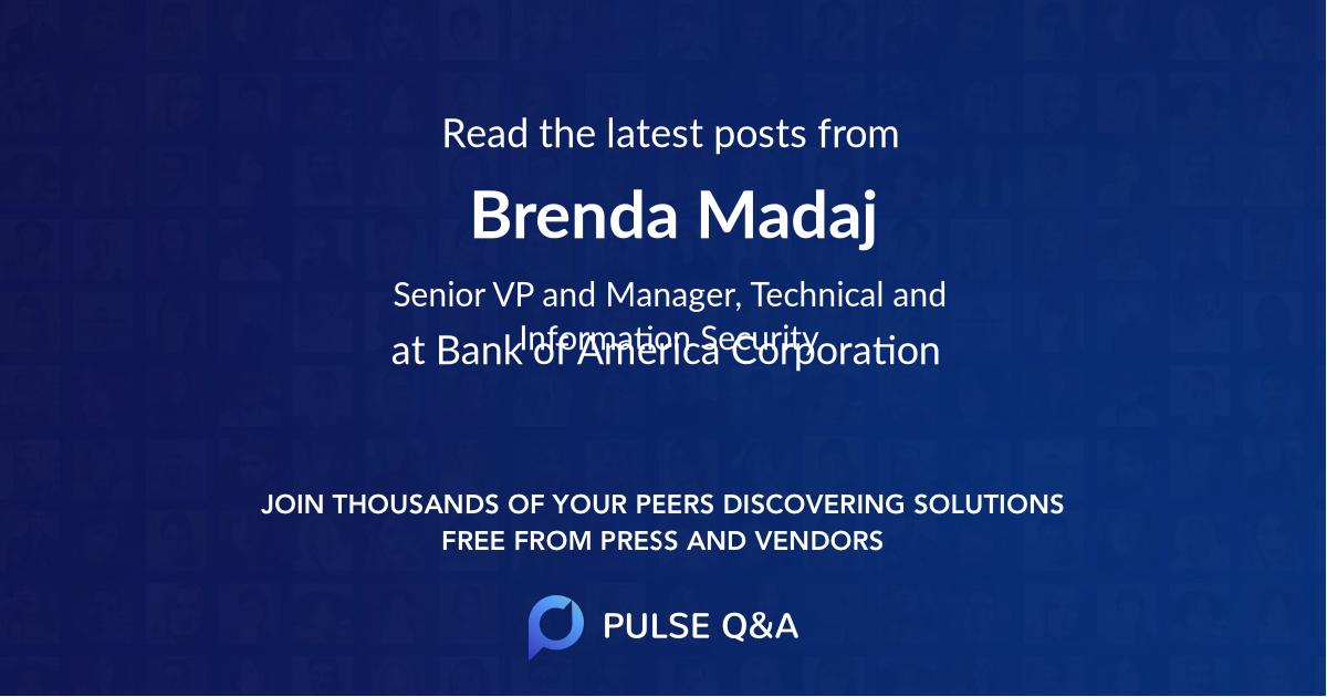 Brenda Madaj
