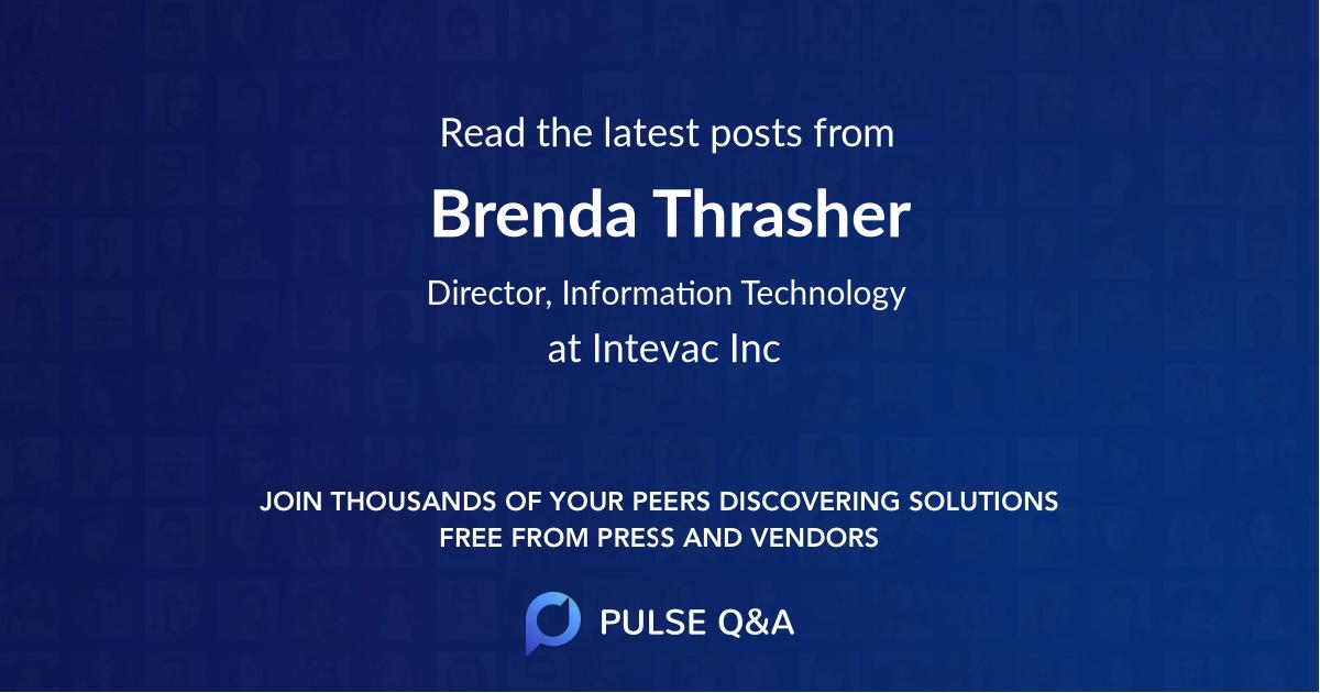 Brenda Thrasher
