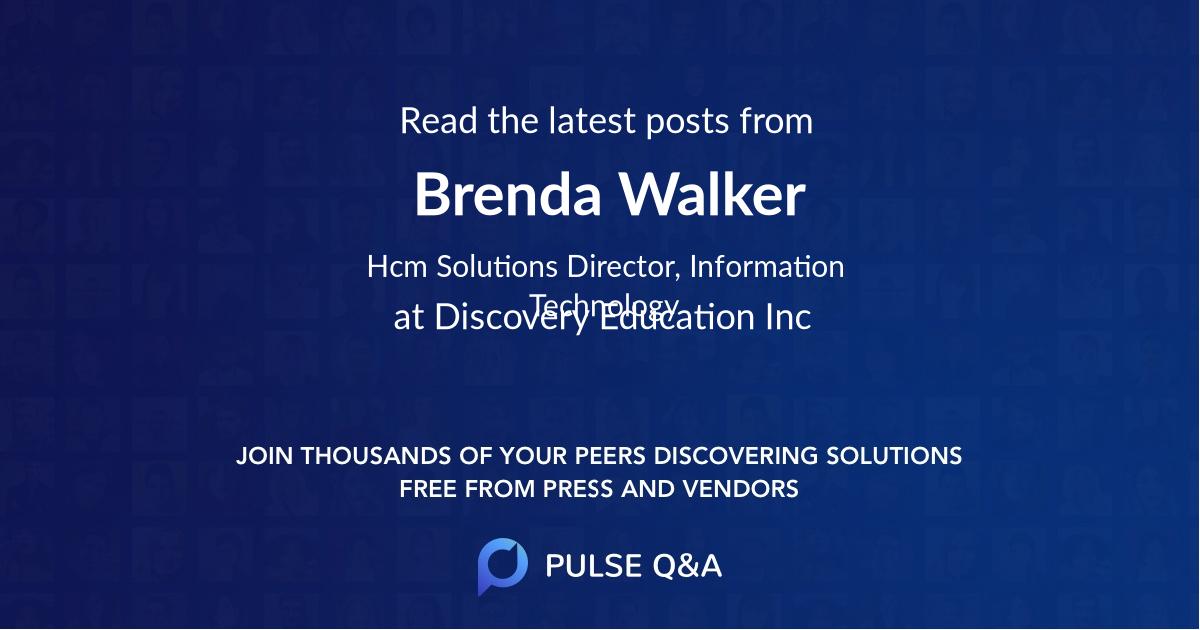 Brenda Walker
