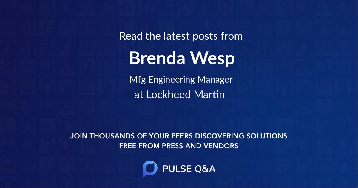 Brenda Wesp