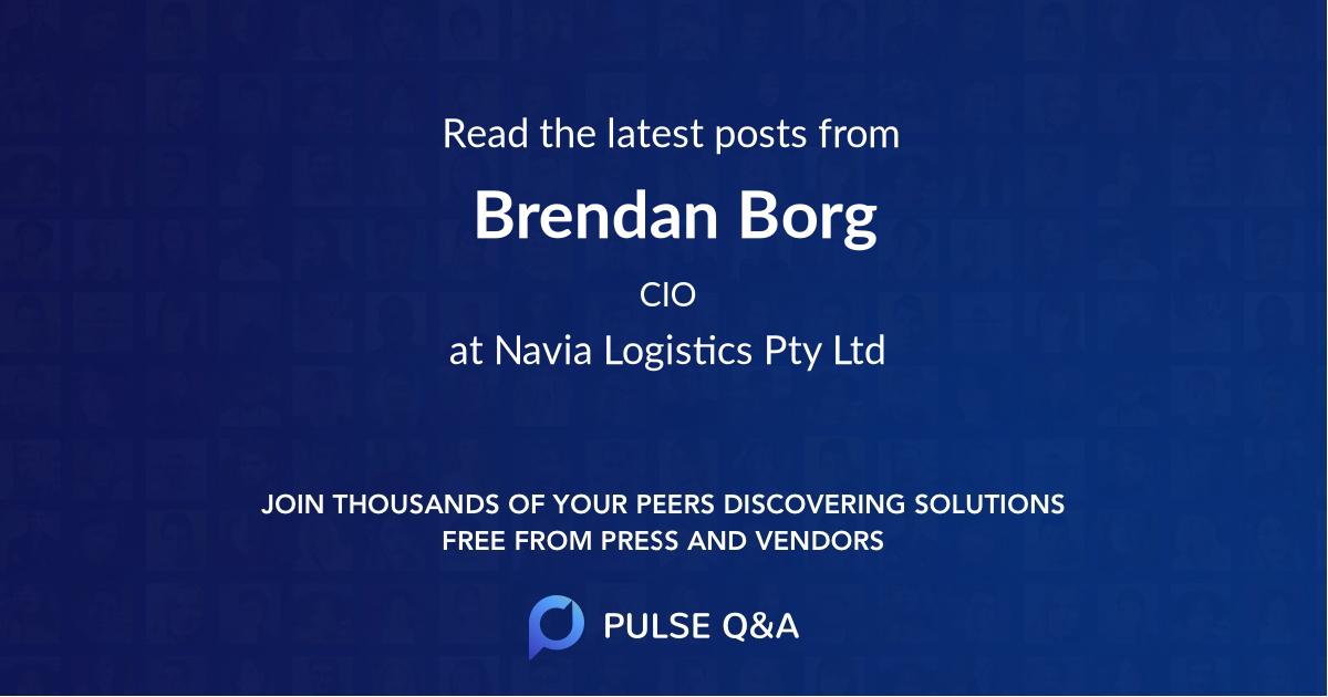 Brendan Borg
