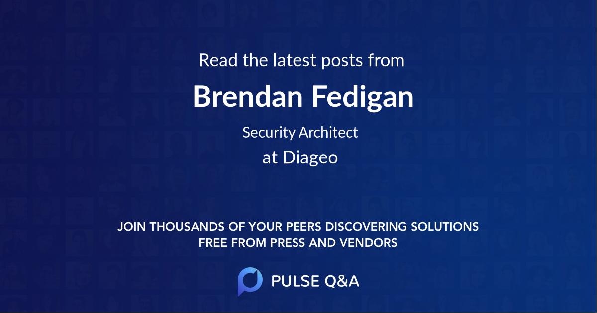 Brendan Fedigan