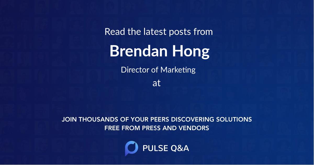 Brendan Hong