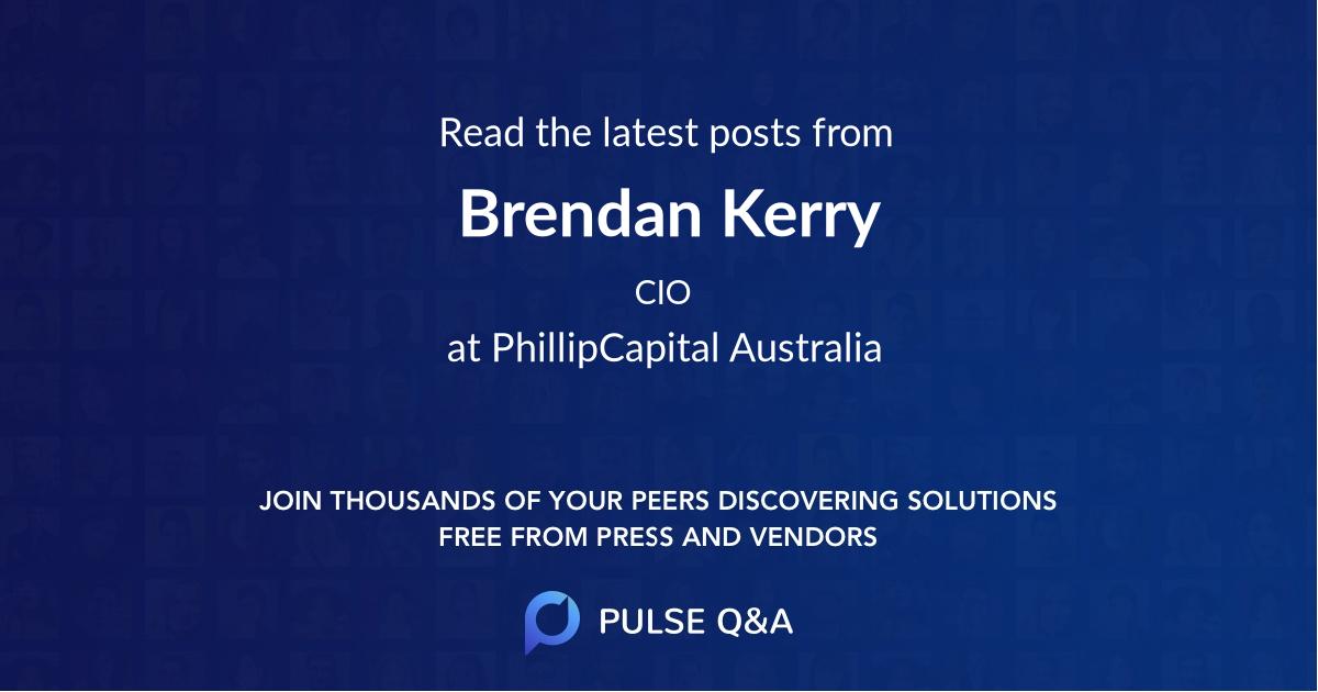 Brendan Kerry