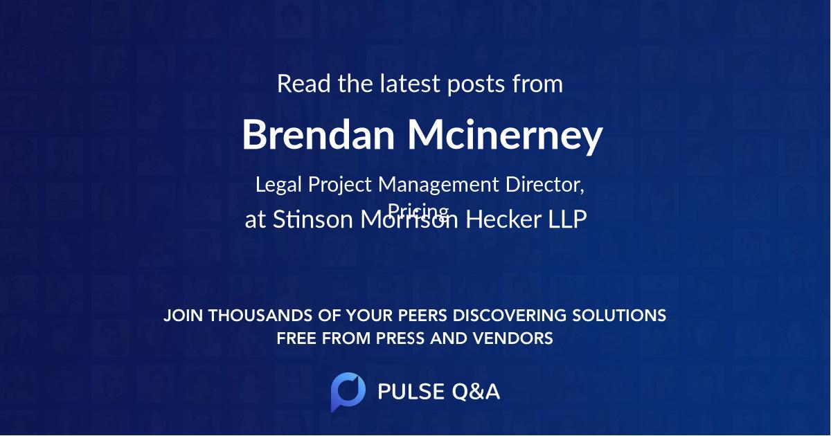 Brendan Mcinerney