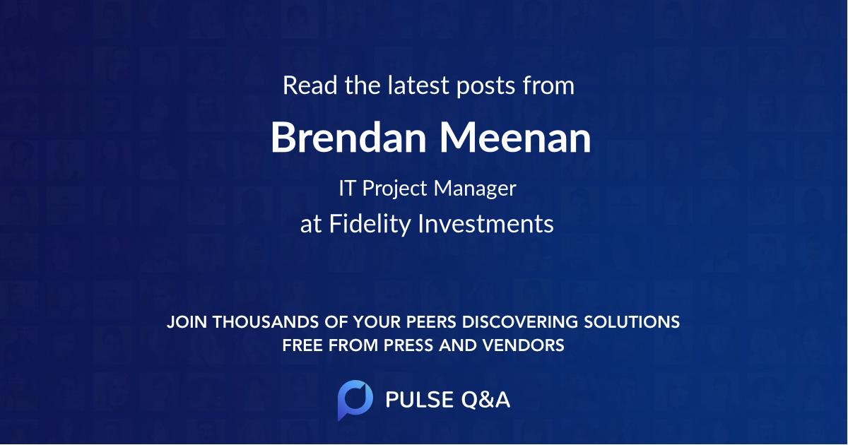 Brendan Meenan