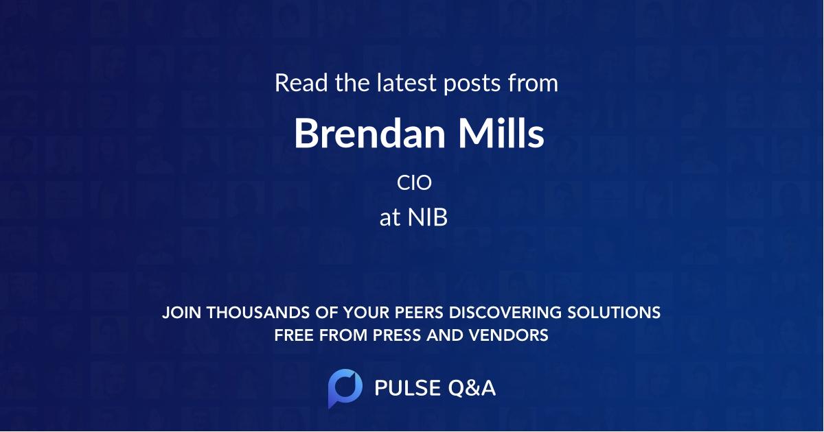 Brendan Mills