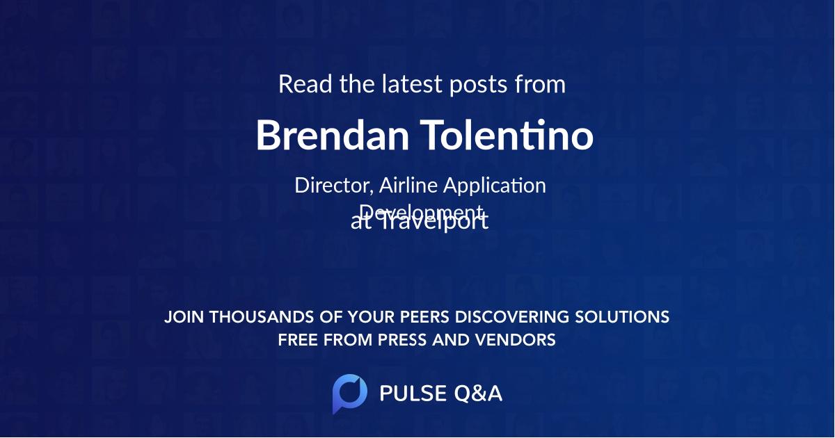 Brendan Tolentino