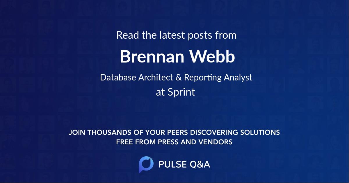 Brennan Webb
