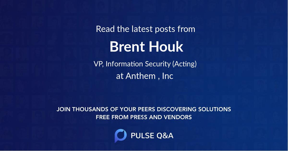 Brent Houk