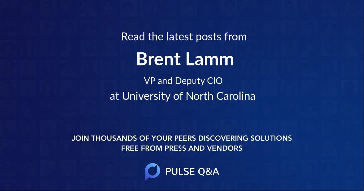 Brent Lamm