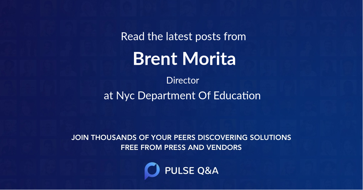 Brent Morita