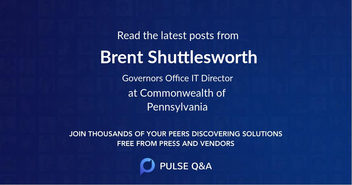 Brent Shuttlesworth
