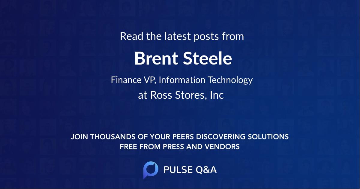 Brent Steele