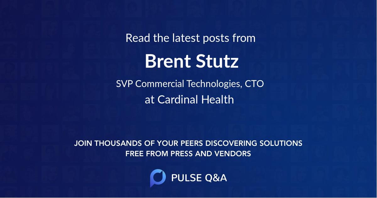 Brent Stutz