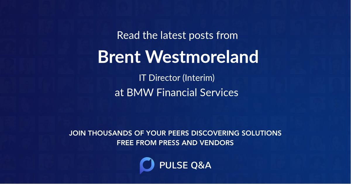 Brent Westmoreland