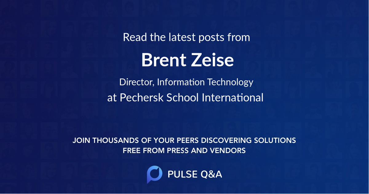 Brent Zeise