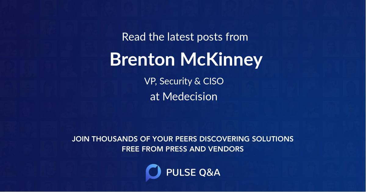 Brenton McKinney