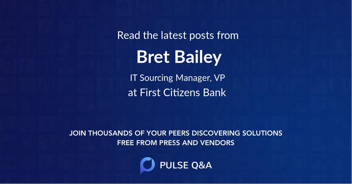 Bret Bailey