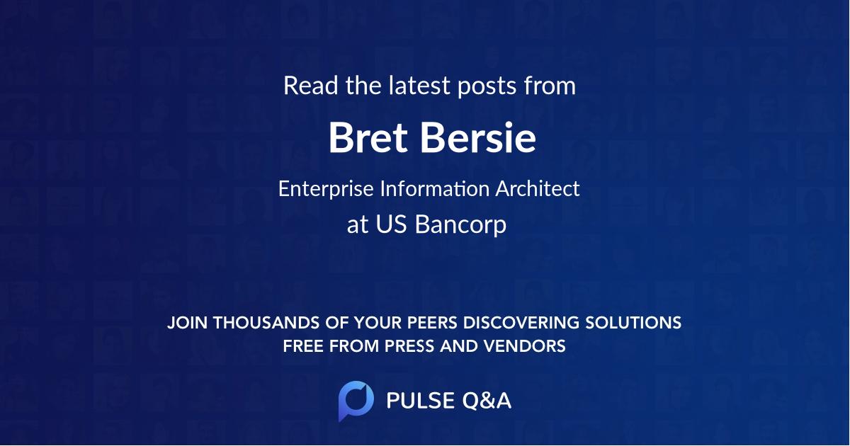 Bret Bersie
