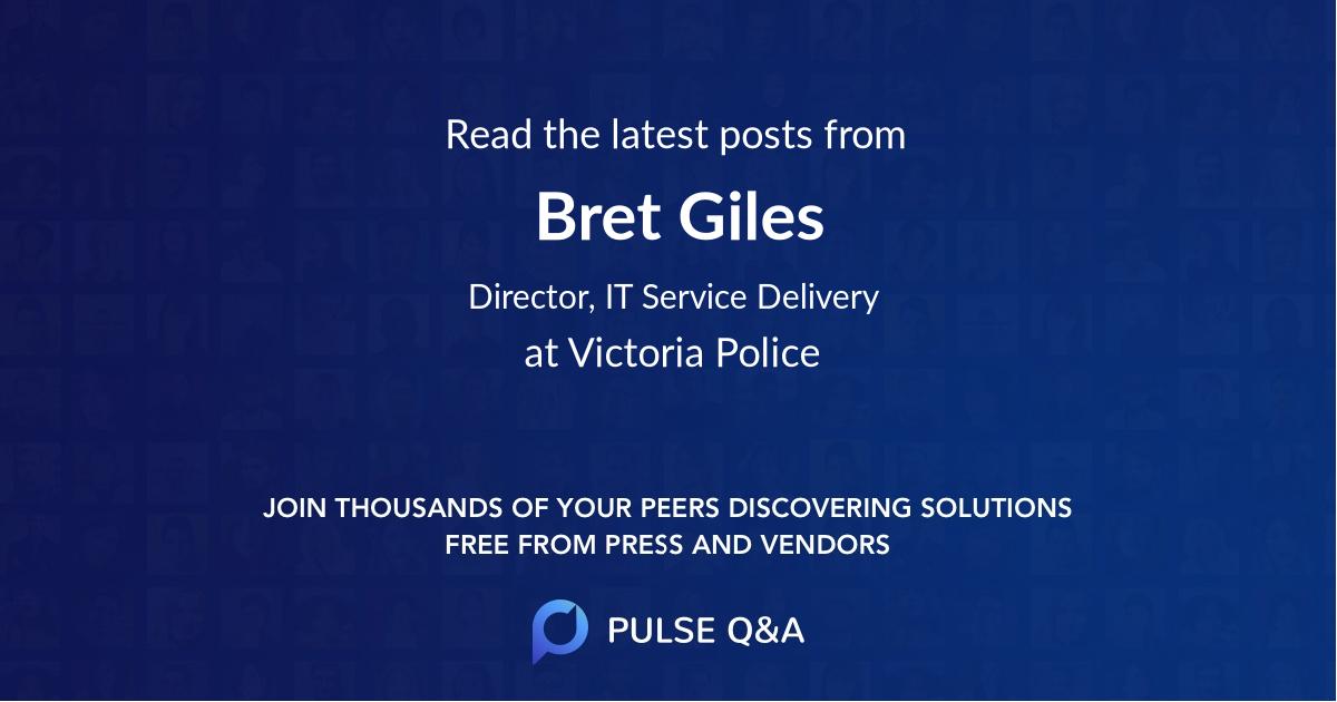 Bret Giles
