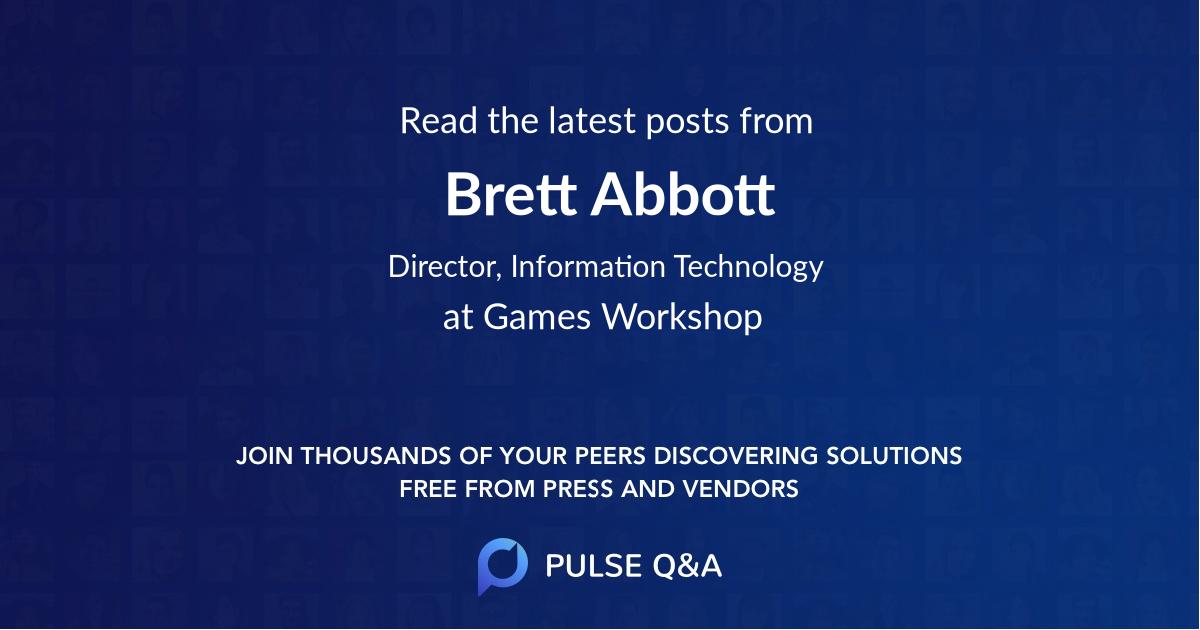 Brett Abbott